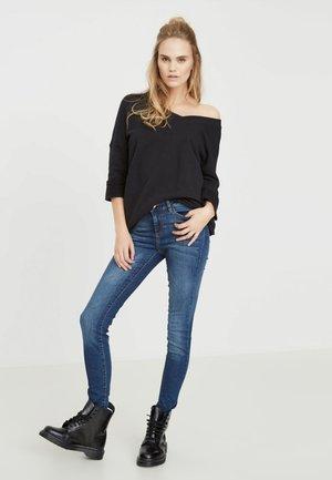 LUCY - Jeans Skinny Fit - dark blue denim