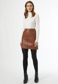 Dorothy Perkins - A-line skirt - brown - 1