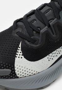 Nike Performance - PEGASUS TRAIL 2 - Trail running shoes - black/spruce aura/dark smoke grey - 5