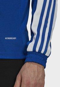 adidas Performance - Zip-up hoodie - blue - 5