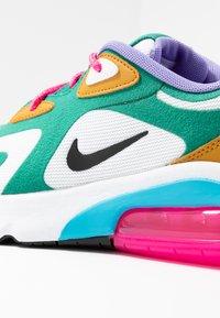 Nike Sportswear - AIR MAX 200 - Sneaker low - mystic green/white/gold/light current blue/pink blast/medium violet - 2
