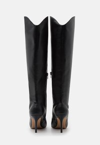 NA-KD - POINTY SHAFT BOOTS - Over-the-knee boots - black - 3