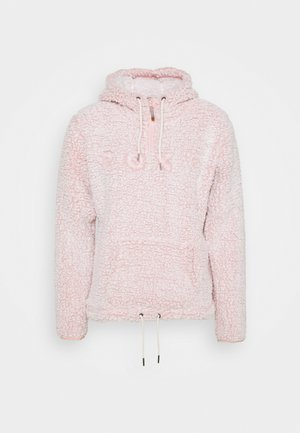 PLUMA SHERPA  - Sweat à capuche - dusty rose