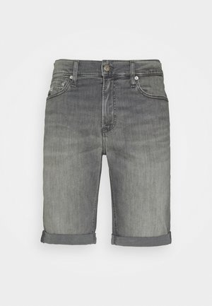 SLIM SHORT - Shorts di jeans - denim grey
