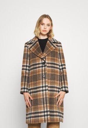 CLARETA LONG - Classic coat - dark camel
