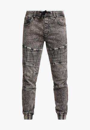 RRROMA BIKER - Teplákové kalhoty - light grey