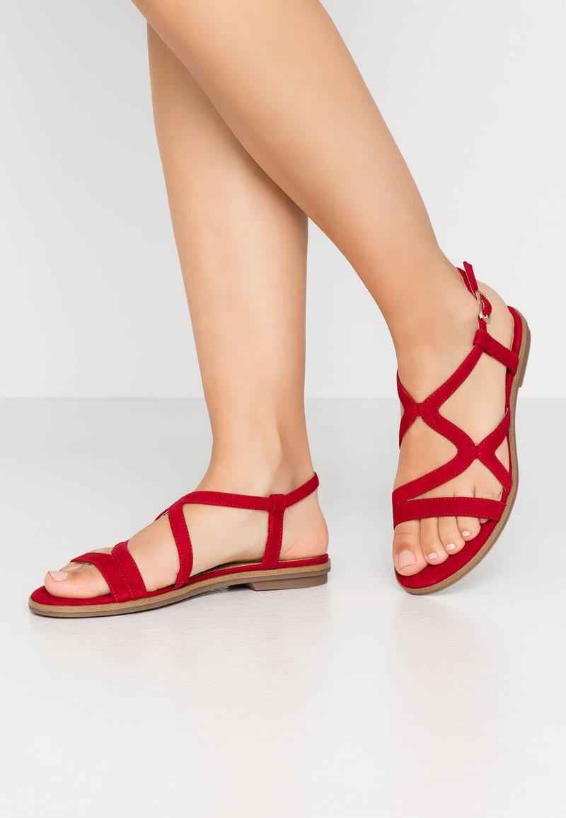 s.Oliver BLACK LABEL - Sandals - red
