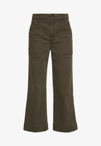 UTILITY PANT - Trousers - surplus green
