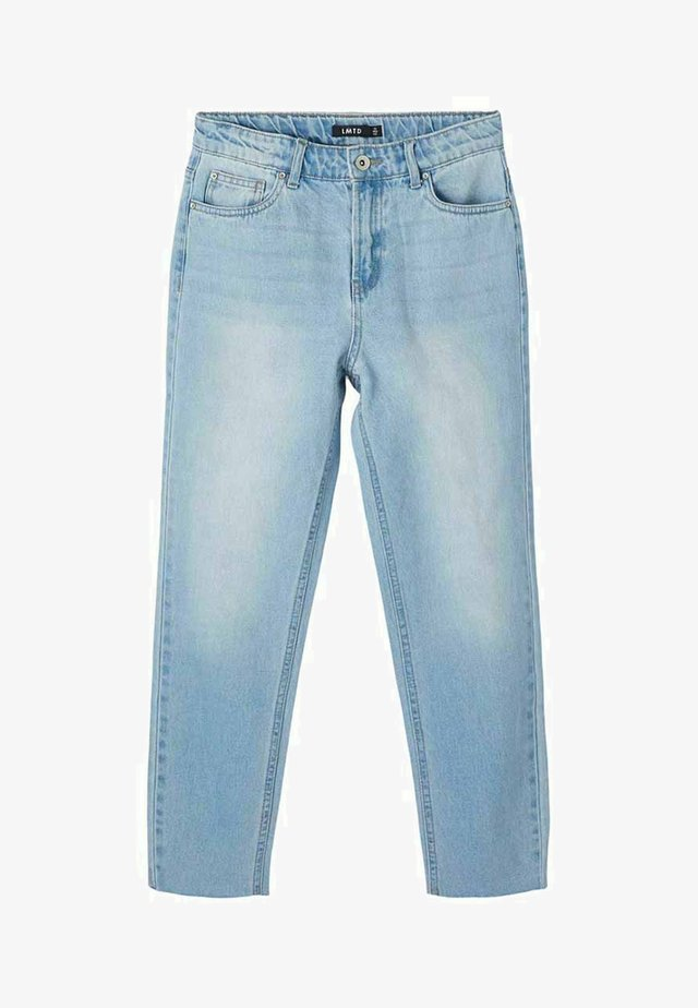 HIGH WAIST  - Jeans slim fit - light blue denim