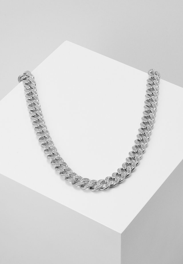 STONE CHAIN - Collier - silver-coloured