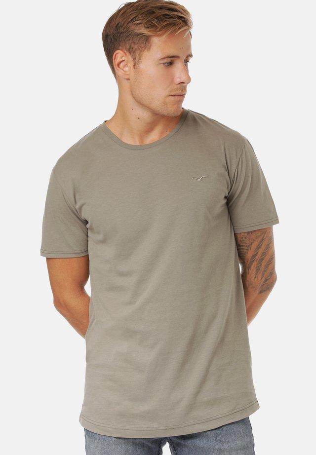 T-shirt basique - dusty olive