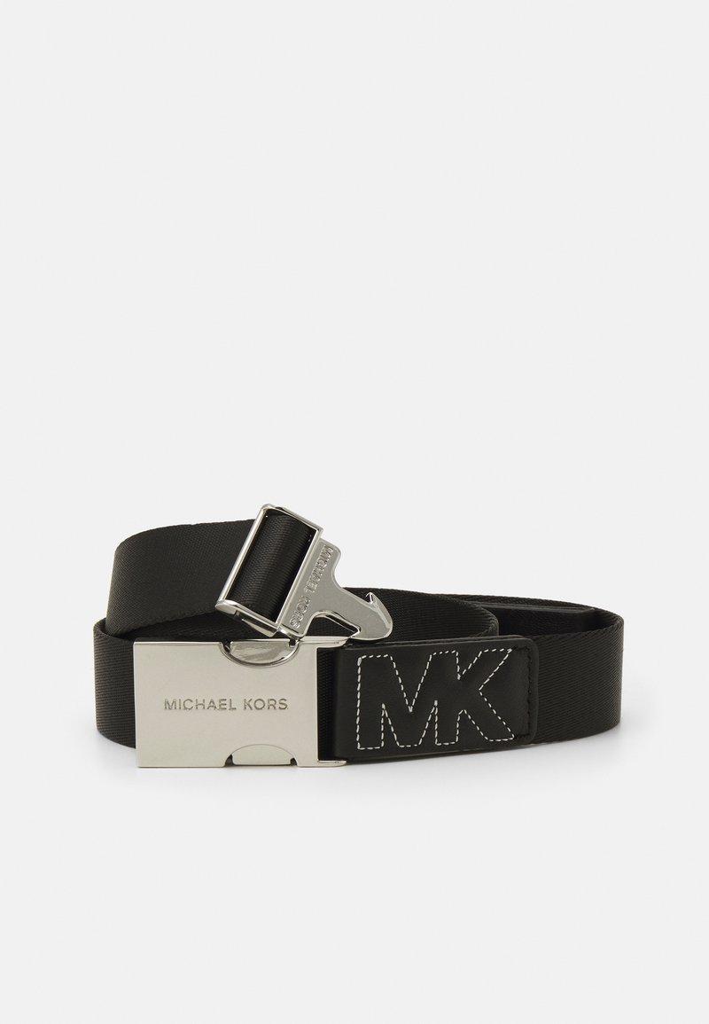 MICHAEL Michael Kors - WEBBING BELT WITH QUILTING - Belt - black