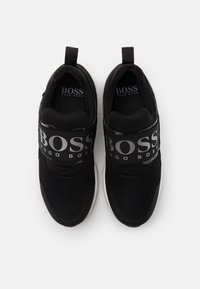 BOSS Kidswear - TRAINERS - Slip-ons - black - 3