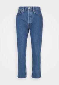 STOVE PIPE - Straight leg jeans - blue denim