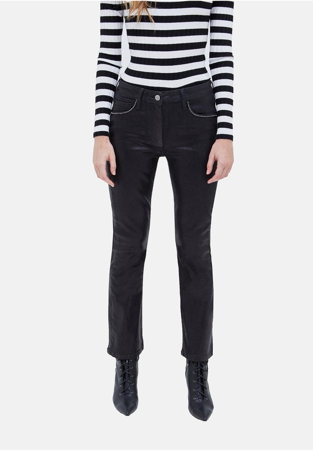 Flared Jeans - nero