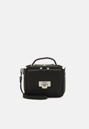 ELLANE - Across body bag - jet black/silver