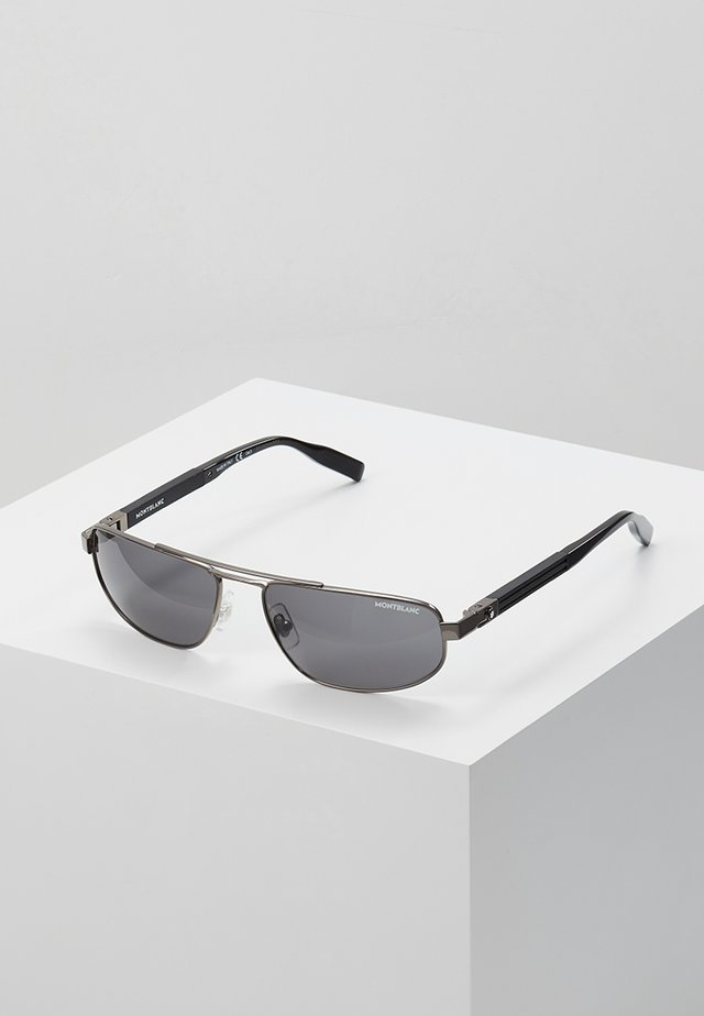 Sunglasses - ruthenium/black/grey