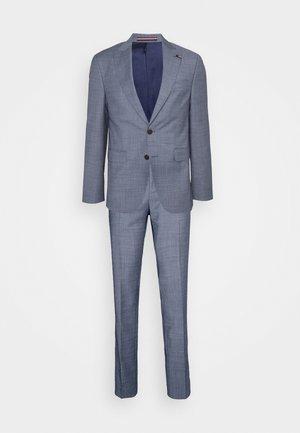 FLEX PEAK LAPEL SLIM FIT SUIT - Suit - blue