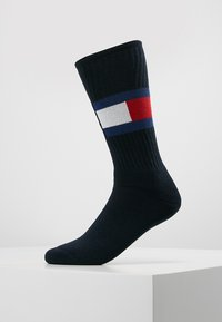 Tommy Hilfiger - FLAG  - Calcetines - dark navy - 0