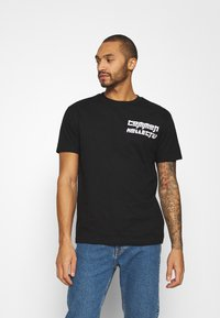 Common Kollectiv - MANGA TEE UNISEX - Print T-shirt - black - 0