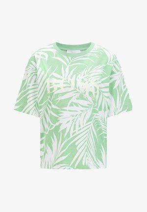 EVINA PRINT ACTIVE - Print T-shirt - weiss