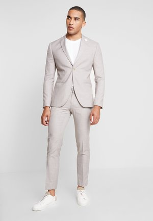 WEDDING SUIT LIGHT NEUTRAL - Oblek - beige