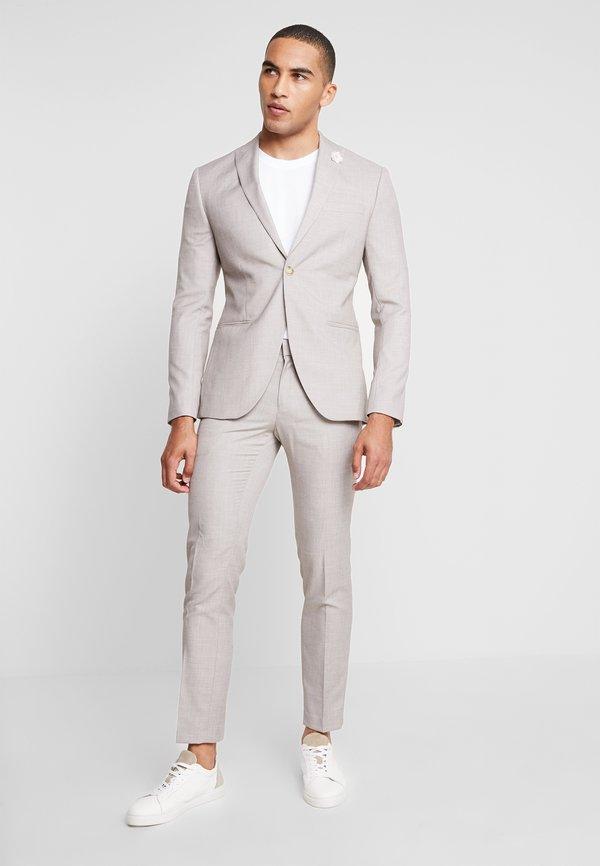 Isaac Dewhirst WEDDING SUIT LIGHT NEUTRAL - Garnitur - beige/beżowy Odzież Męska IQFU