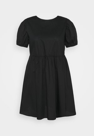 LUCY MINI DRESS - Day dress - black