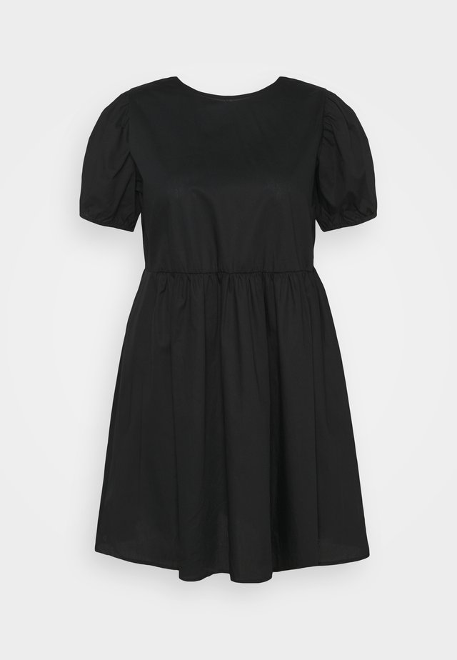 LUCY MINI DRESS - Robe d'été - black