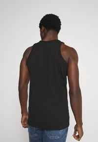 Calvin Klein Jeans - MICRO BRANDING TANK - Top - black - 2