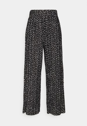 ONLELEMA PANTS  BOX - Trousers - black