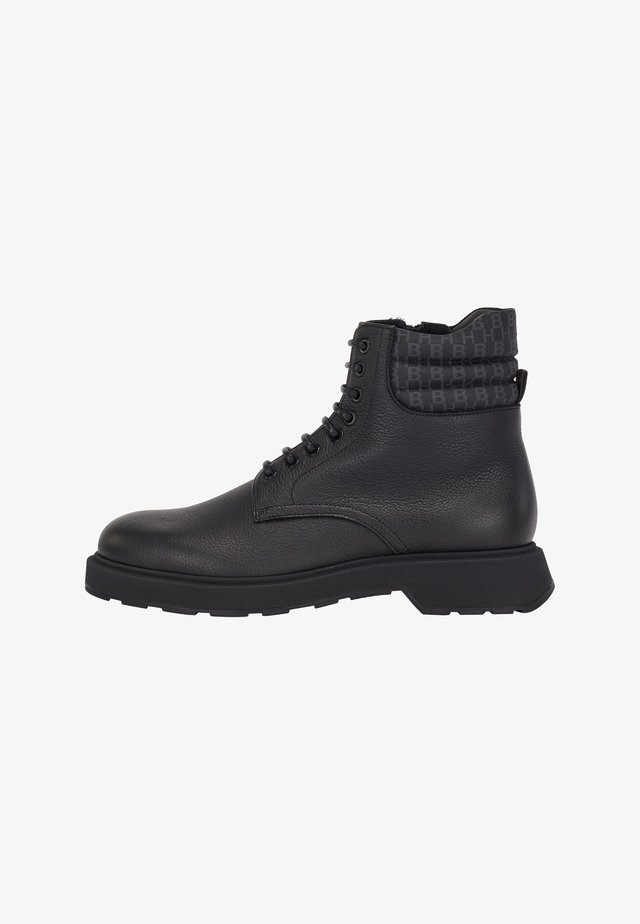 GLADWIN - Lace-up ankle boots - black