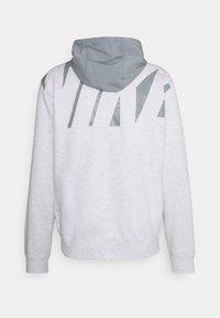 Nike Sportswear - HOODIE  - Tröja med dragkedja - birch heather/particle grey/black - 1