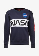 NASA INLAY  - Sweatshirt - blue