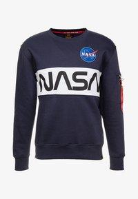 Alpha Industries - NASA INLAY  - Mikina - blue - 3