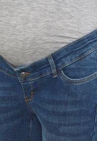 MAMALICIOUS - MLPARK BUMPBAND SLIT - Jeans Skinny Fit - dark blue denim - 2