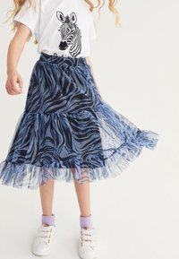 Next - Pleated skirt - blue - 3