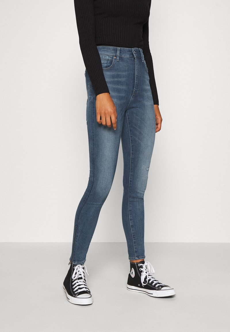 G-Star - SHAPE HIGH SUPER ANKLE  - Jeans Skinny Fit - antic faded zaffre restored