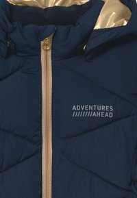 Name it - NMFMILTON PUFFER CAMP - Winterjas - dark sapphire