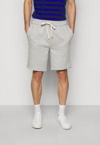 Polo Ralph Lauren - THE CABIN FLEECE SHORT - Shorts - andover heather - 0