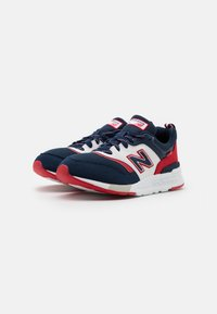 New Balance - GR997HVN UNISEX - Sneakers laag - navy/red - 1