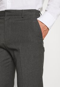 Burton Menswear London - SLIM 2 PACK - Kangashousut - black/grey - 6