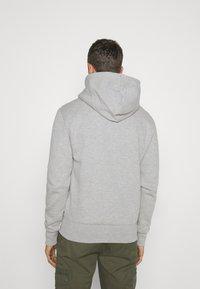 Superdry - CLASSIC ZIPHOOD - Zip-up hoodie - grey marl - 2