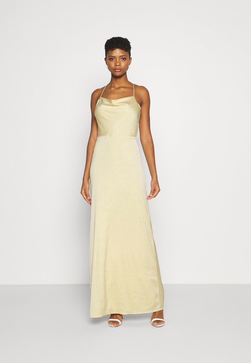 Nly by Nelly - WATERFALL MERMAID GOWN - Robe de cocktail - light yellow