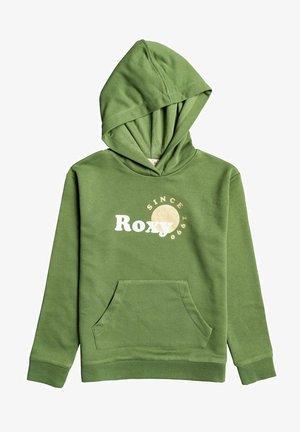 Hoodie - vineyard green