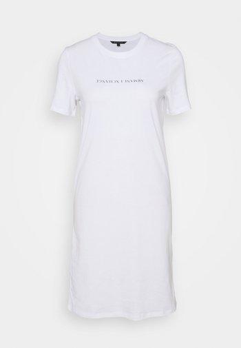 VESTITO - Jersey dress - optic white