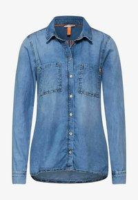 Street One - Button-down blouse - blau - 2