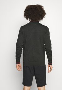 Calvin Klein Golf - MONACO  - Jumper - charcoal/red - 2