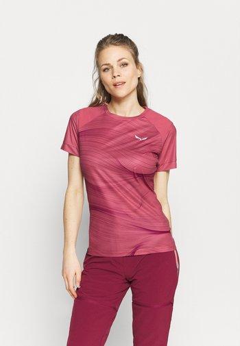 SECEDA DRY  - T-shirts med print - mauvemood