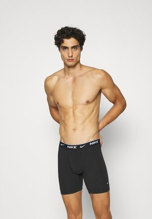 BOXER BRIEF 2PK COTTON STRETCH - Culotte - black